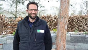 Lorenz Tanner, Geschäftsführer der Tanner Gartenbau AG, gefällt die Idee des Parcours.