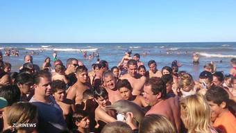Je spektakulärer das Selfie, desto grösser der Erfolg auf Facebook und Co. An einem argentinischen Strand endet das mit einem toten Delfinbaby.