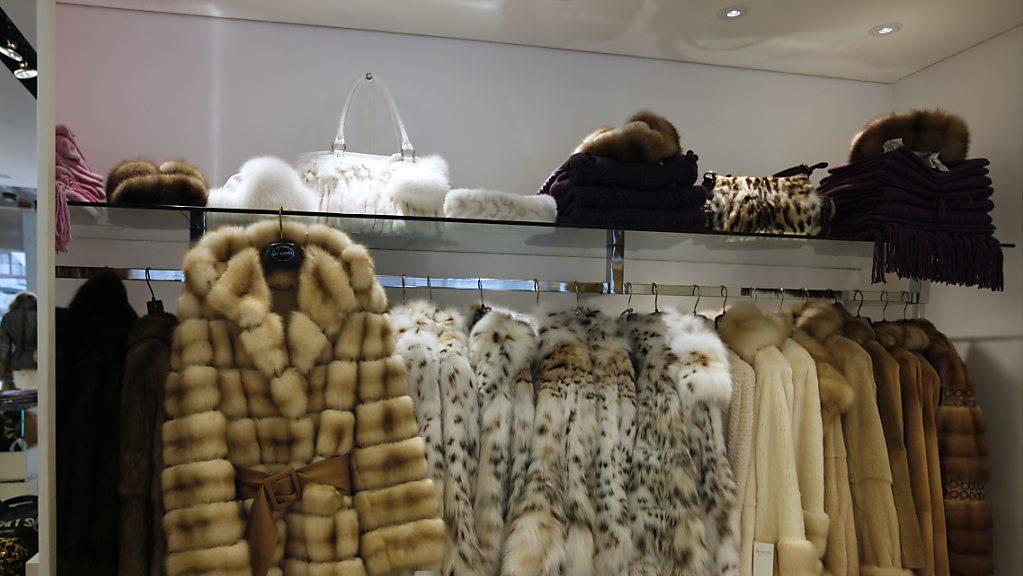 Vier von fünf Pelz-Verkaufsstellen haben ihre Ware nicht oder nur fehlerhaft deklariert. Zu diesem Schluss kommt eine Untersuchung des Bundes. (Archivbild)