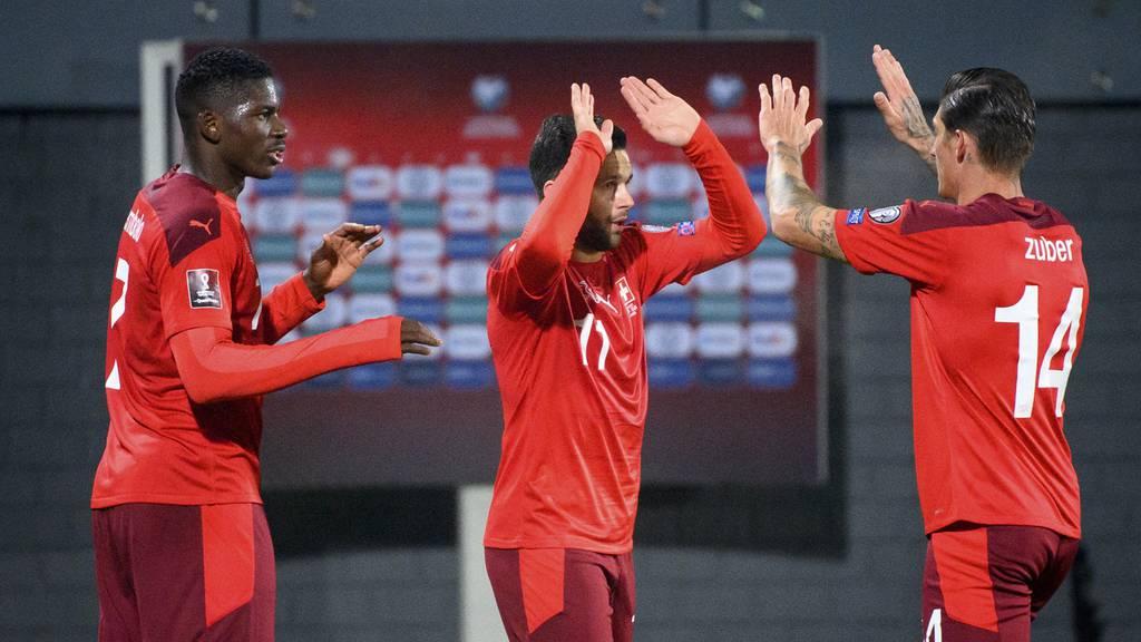 Schweiz gewinnt gegen Litauen mit 4:0