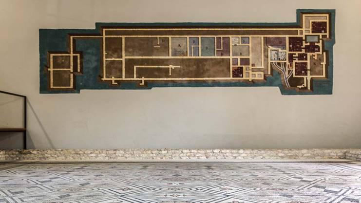 Hier kann man Mosaike aus römischer Zeit bewundern.