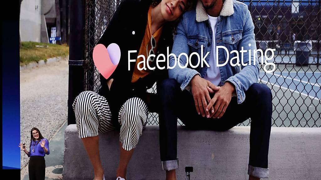 Facebook lanciert die Dating-Funktion nun auch in Europa. (Archivbild)