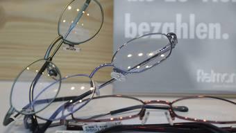 Brille: Fielmann! Die deutsche Optikerkette hat den Umsatz gesteigert.
