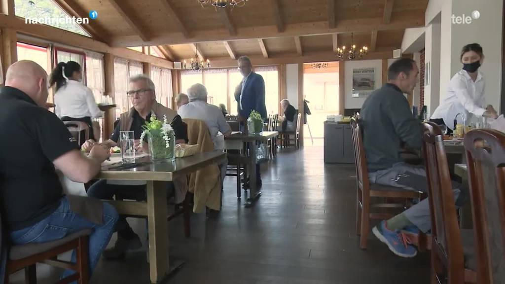 Ab heute sind Innenräume von Restaurants wieder offen