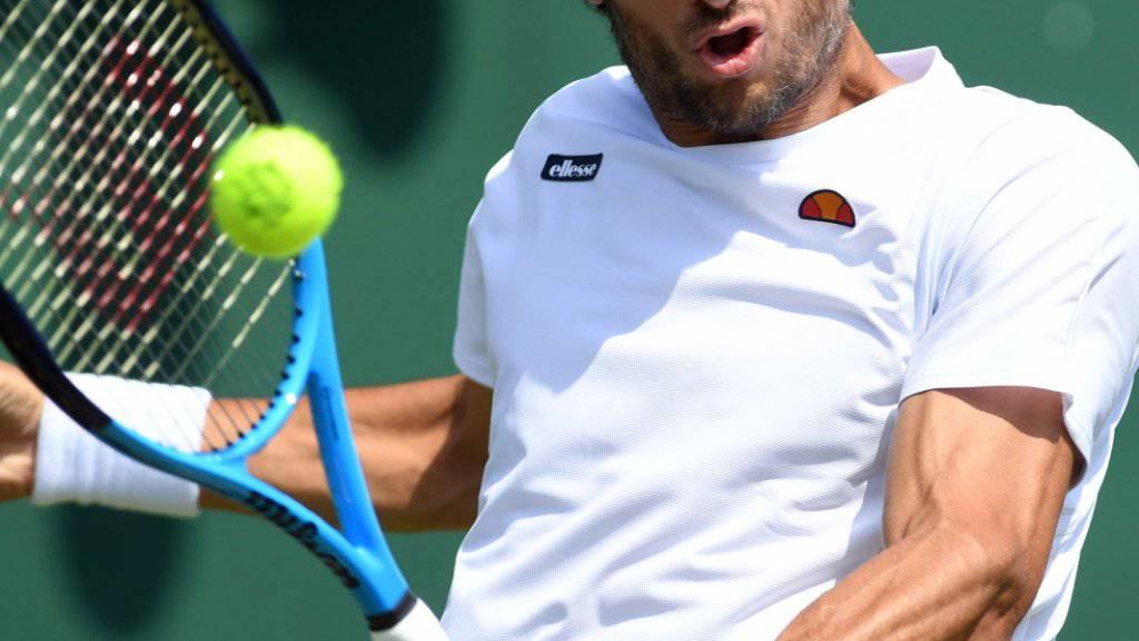 Ein echter Dauerbrenner: Feliciano Lopez spielt in Wimbledon sein 66. Grand-Slam-Turnier in Folge
