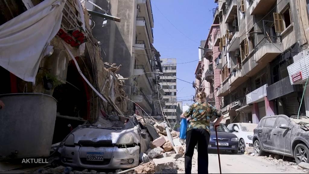 Explosion in Beirut: So haben Schweizer das Unglück erlebt