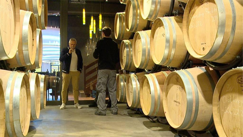 Rekordjahr für Schweizer Wein