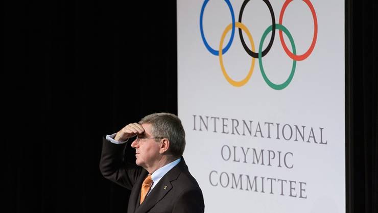 IOC-Präsident Thomas Bach ermutigte die Fifa, sich in Sachen Reformen ein gutes Beispiel an der olympischen Familie zu nehmen.