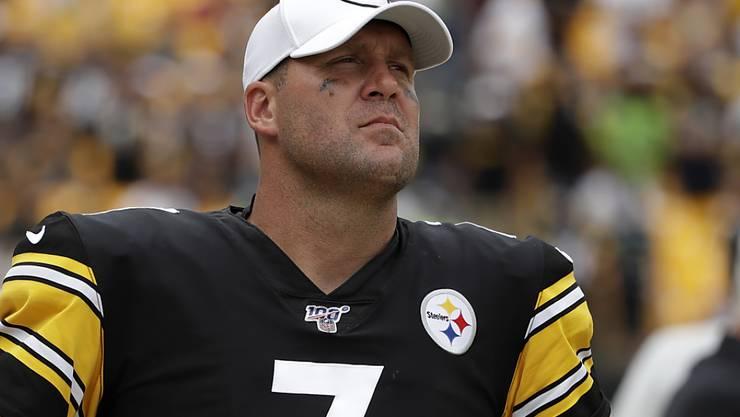 Die NFL-Saison ist für Pittsburghs Quarterback Ben Roethlisberger verletzungsbedingt vorzeitig beendet
