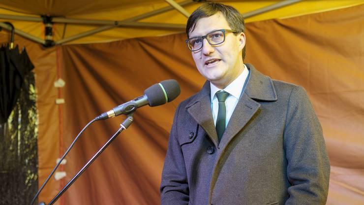 Der 36-jährige Rechtsanwalt und Notar ist der erste grüne Parlamentarier, dem im Kanton Solothurn diese Ehre zuteil wird.