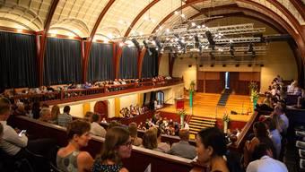 Berufsmaturitäts-Feier 2018 im Konzertsaal