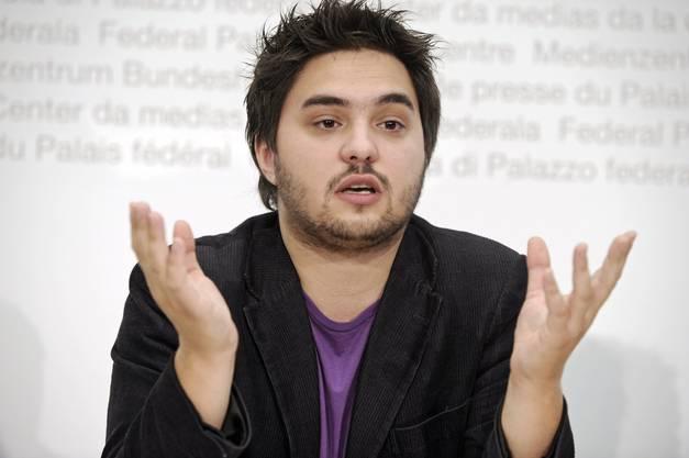Cédric Wermuth, SP-Nationalratskandidat.