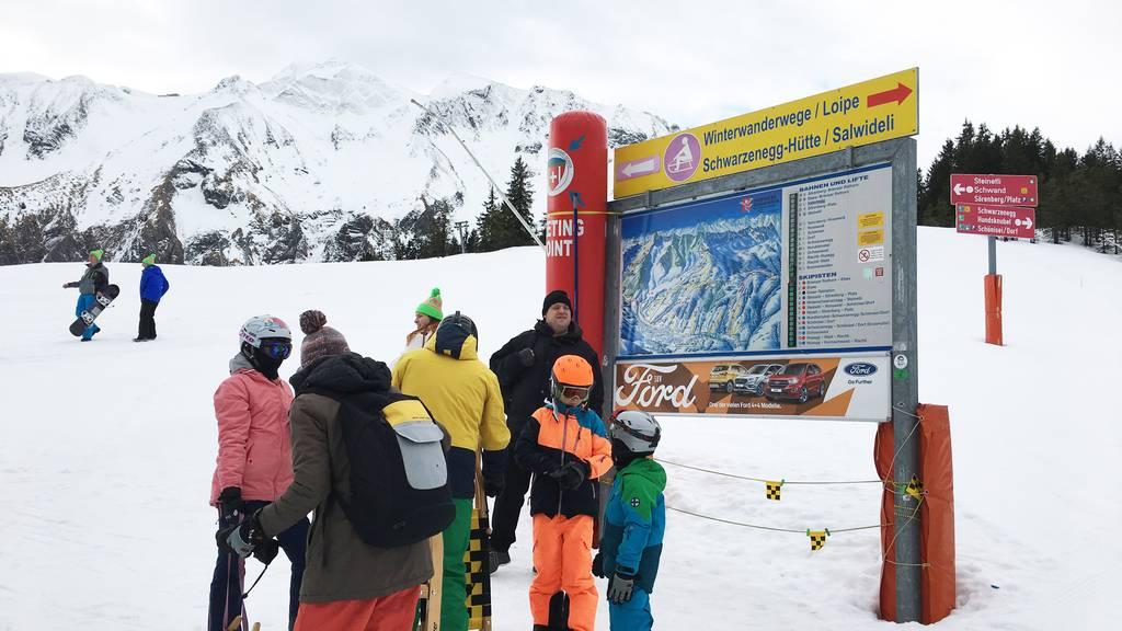 Schneetag: Viel Spass in Sörenberg