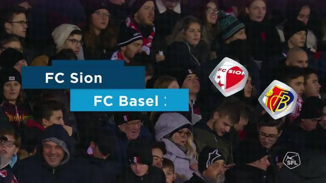 Sion - FCB 18. Runde 2018