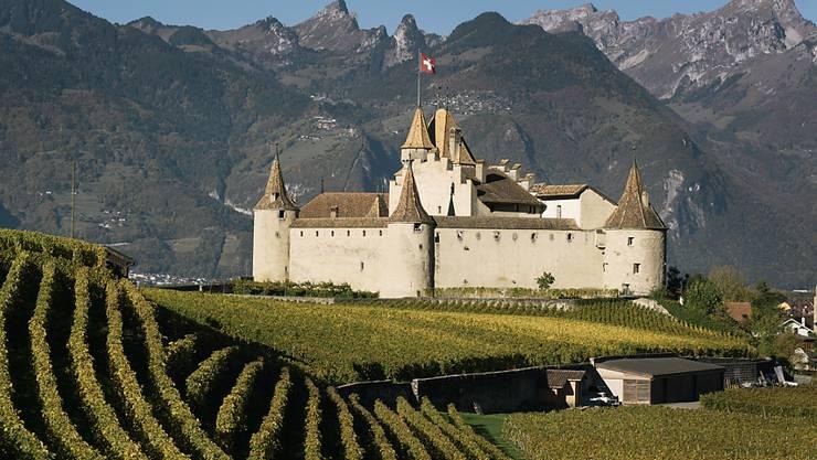 Aigle im Waadtland wird im Jahr 2019 die Welt-Weinhauptstadt. (Symbolbild)