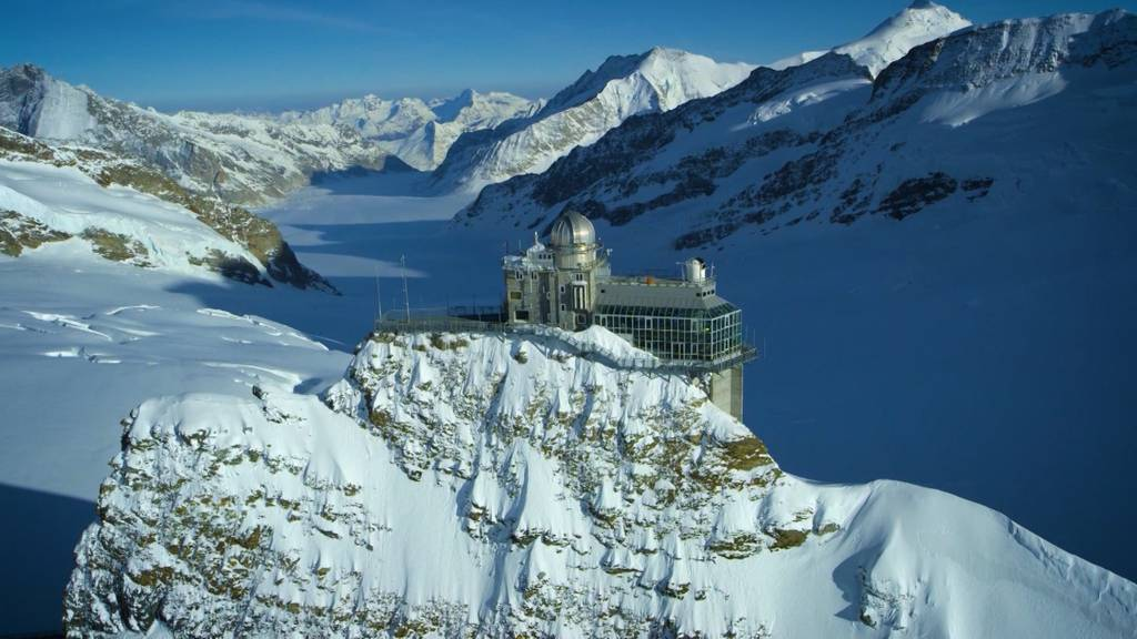 Andreas Wyss, der Alleskönner vom Jungfraujoch