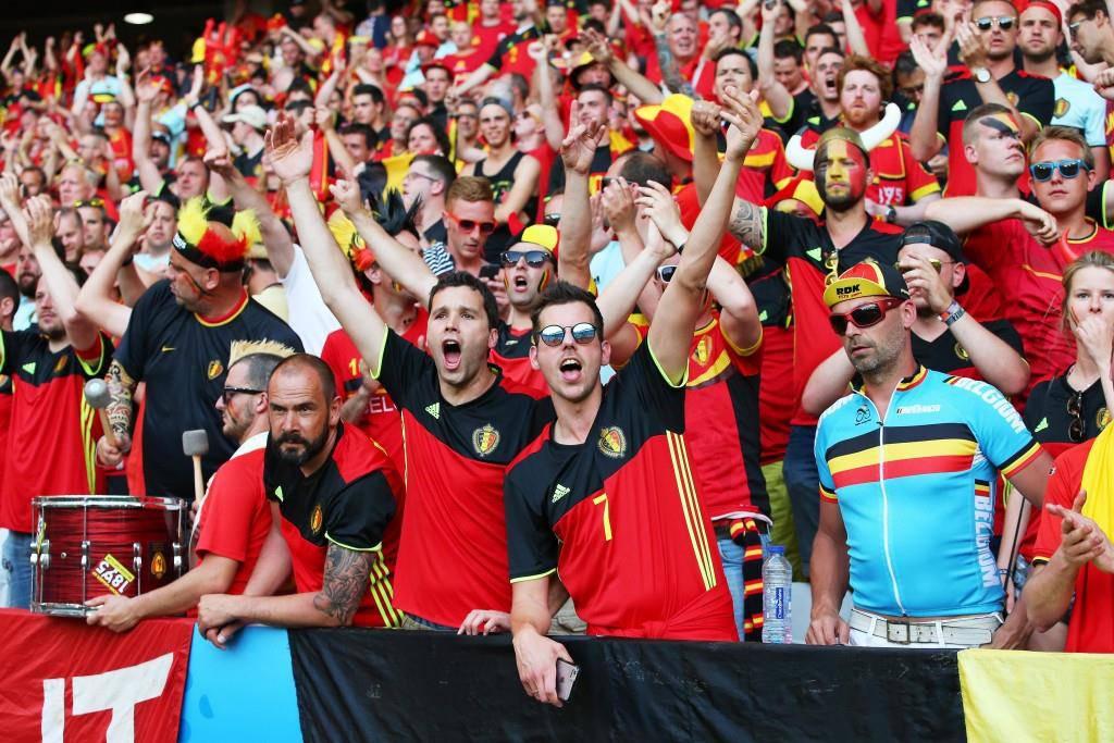 Schweden gegen Belgien in Bildern