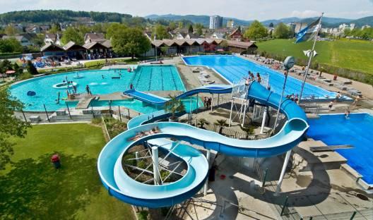 Die Badi in Zofingen.