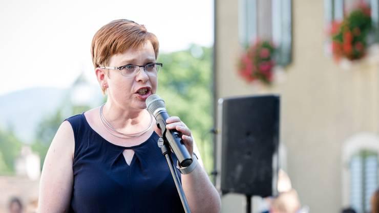 Stadträtin Ruth Müri lobte die vielen Attraktionen der verschiedenen Vereine