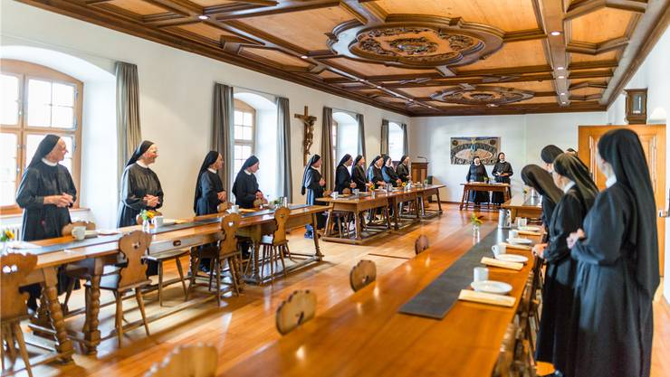 Setzen auf Hilfe aus Freikirchen-Kreisen: Die Benediktiner-Schwestern vom Kloster Fahr.Sandra Ardizzone
