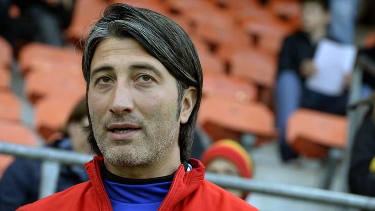 FCB-Trainer Murat Yakin im Vorfeld der Partie