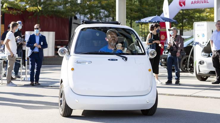 Es handelt sich dabei um Elektro-Fahrzeuge.