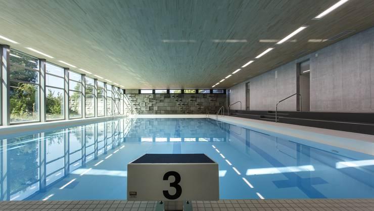 Die renovierte Schwimmhalle von Oberdorf