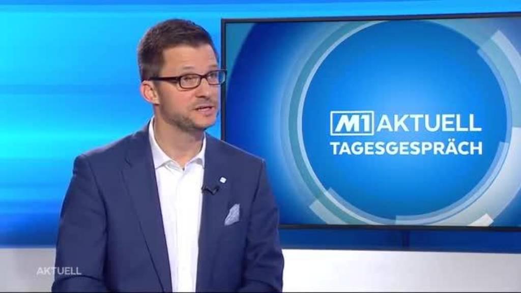 Beat Bechtold über die Wirtschaftslage im Aargau