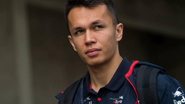 Alexander Albon fährt ab sofort für Red Bull