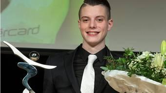 Lucas Fischer ist Aargauer Sportler des Jahres