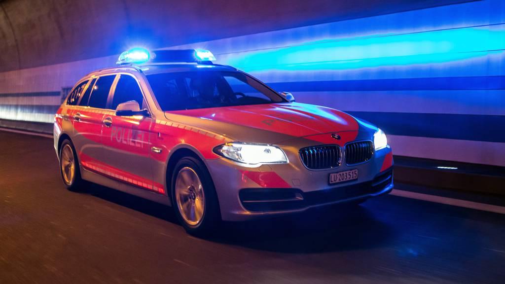 Luzerner Polizei nimmt nach Messerstecherei mutmasslichen Täter fest