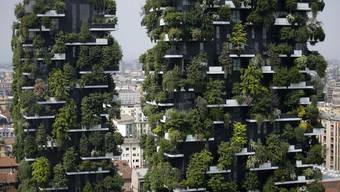 Die Wohntürme «Bosco verticale» (vertikaler Wald) in Mailand zeigen: Es geht auch aufwärts.