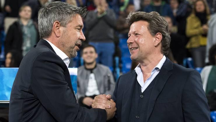 Urs Fischer und Jeff Saibene treffen sich neu in der 2. Bundesliga.