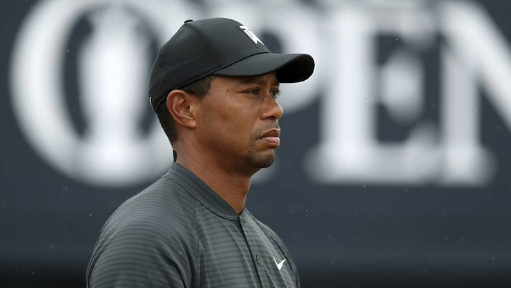 Tiger Woods - am British Open hoch konzentriert