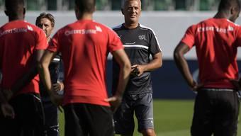 Vladimir Petkovic und die Schweizer Nationalmannschaft streben am Donnerstag gegen Andorra den siebten Sieg im siebten WM-Qualifikationsspiel an