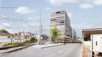 Der Entscheid über das Baugesuch zum neuen WSB-Bahnhof steht noch aus.