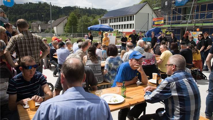 250 Interessierte informierten sich am Wittnauer «Tag der Sonne». zvg