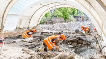 Ausgrabungen Bäder in Baden
