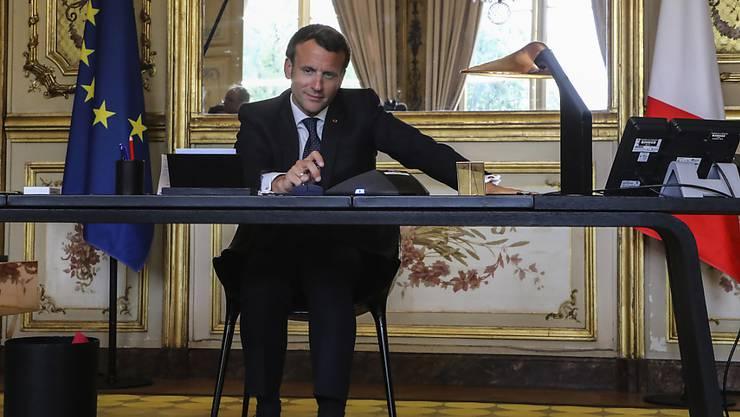 Frankreichs Präsident Emmanuel Macron hat sich in einem Brief an Deutschland für die Übernahme von Coronavirus-Patienten bedankt.