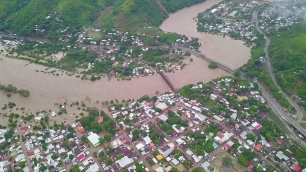 Rund 200 Tote bei Unwetter in Mexiko und Zentralamerika