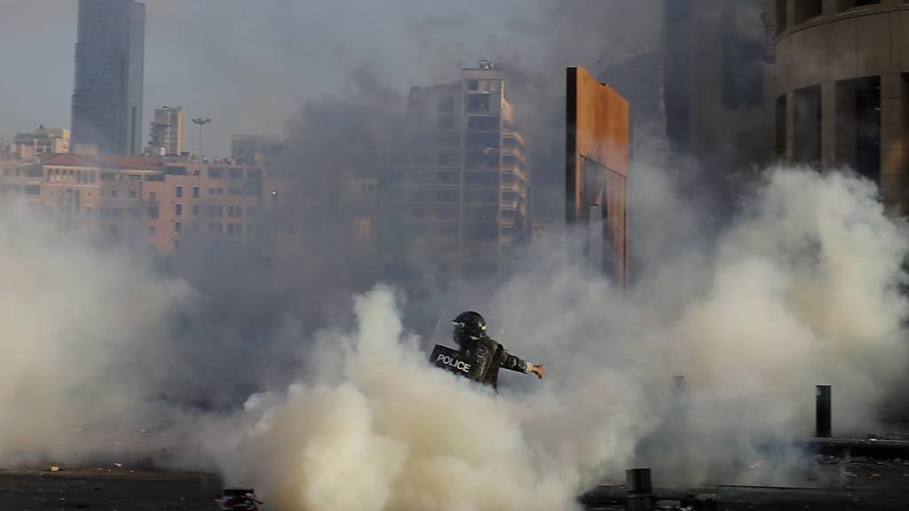 Chaos bei Protest in Beirut – Konferenz berät über Hilfe für Libanon