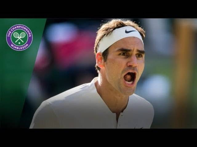 Roger Federer v Milos Raonic highlights - Wimbledon 2017 quarter-final
