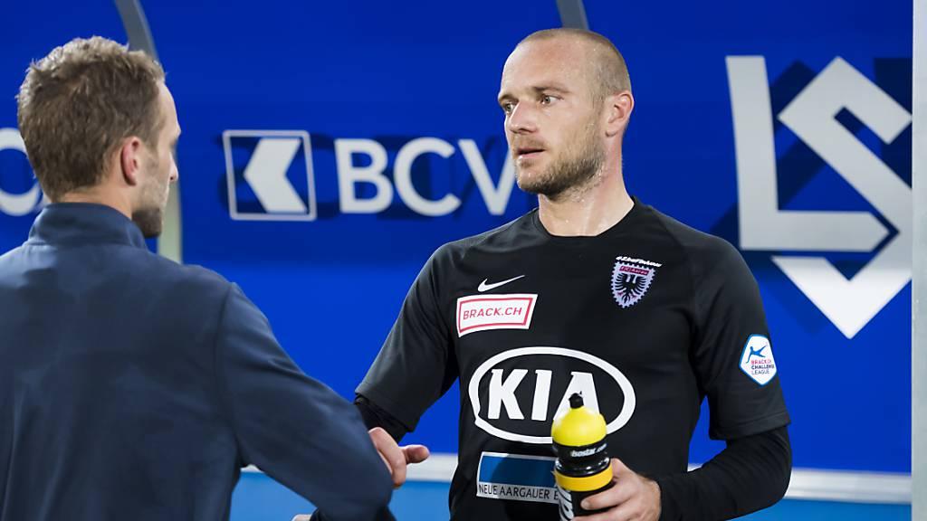 Marco Schneuwly beendet seine Spieler-Karriere und wird in Luzern Talent-Manager.