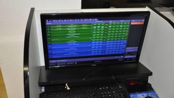 Bei der Kontrolle wurden auch zwei Internetwettstationen sichergestellt. (Archiv)