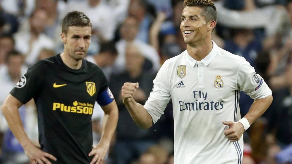 Dank Cristiano Ronaldos drei Treffern im Hinspiel hat Real Madrid heute eine konfortable Ausgangslage