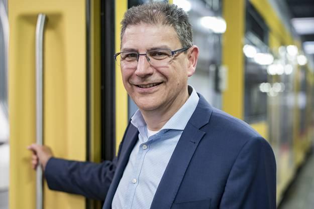 «Wir wollen bei den Elektrobussen vorne dabei sein, weil da jetzt wirklich die Post abgeht.» Andreas Büttiker Direktor BLT