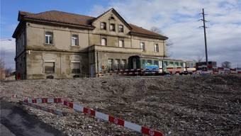 Die ehemalige Kantine steht bald an einem möglicherweise sehr attraktiven Ort, mitten auf dem künftigen Attisholzplatz.