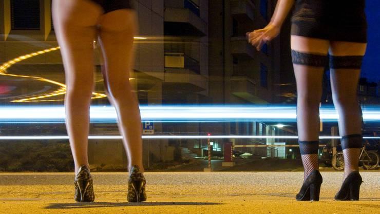 Die vom Stadtrat geplanten Massnahmen zur Regelung der Prostitution riefen Kritik hervor.  (Archiv/Keystone)