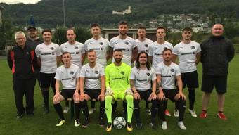 Mannschaftsfoto FC Oensingen 2017/18