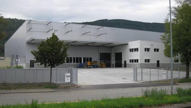 Die neue Lagerhalle Nord – für 12,6 Mio. Franken erbaut – ist dieser Tage Betrieb übergeben worden.